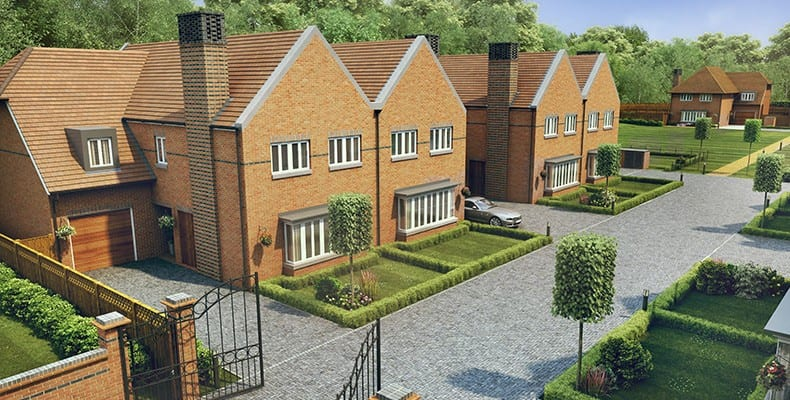Showhome now open at London Square development Hayes, BR2