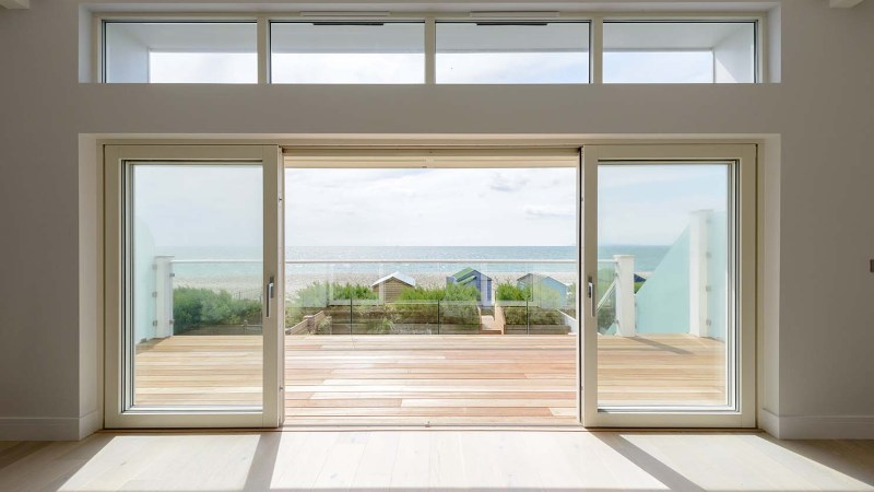 Sliding doors or bi-fold doors?