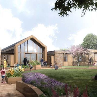 Westcoast Windows are pleased to supply their Swedish designed and manufactured composite windows and doors for the new Noah's Ark Children's Hospice building