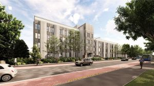 Westcoast Windows supplies Swedish timber aluminium composite windows for the conversion of Aspen House, Kings Road, Reading into contemporary apartments...