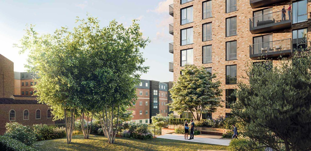Westcoast Windows have won the contract to supply composite windows for high quality apartment development on Snow Hill Wharf, Birmingham