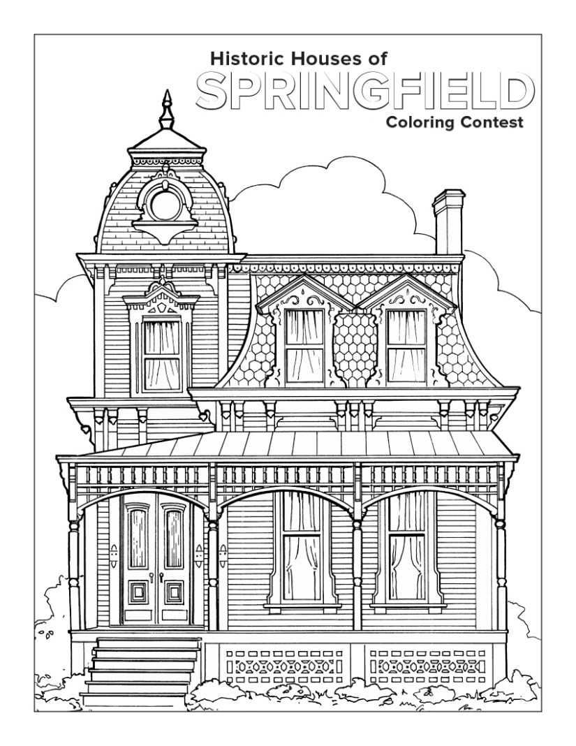 coloring book contest | the westcott house