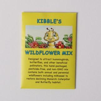 Anita Gnan #1 children's book kibble the monarch caterpillar wildflower seed mix