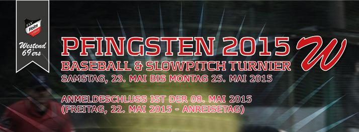 Spielplan Pfingsten 2015