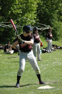 Tobi at Bat