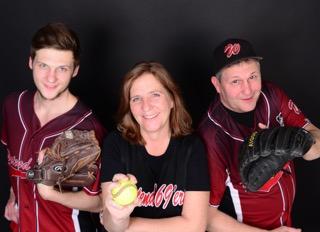 Eine baseballverrückte Familie