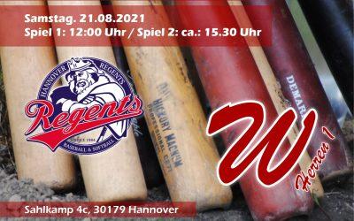 Westend 69'ers H1 @ Hannover Regents