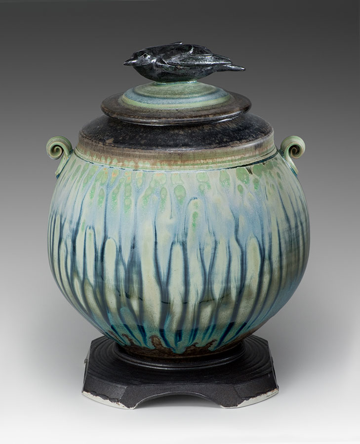 "Richard Aerni and Carolyn Dilcher-Stutz collaboration ""Crow Jar"" INQUIRE"