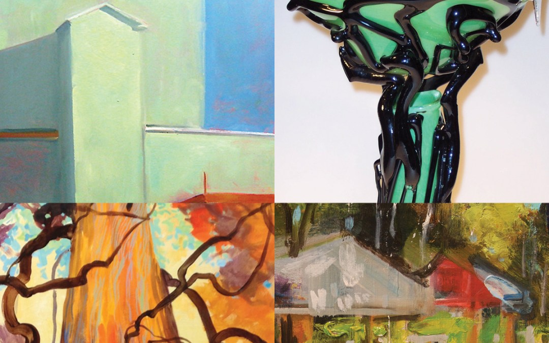 171+WEG Exhibit:  Spotlight at 171's Houghton Gallery featuring: Bruce Baxter, Anne Bialke, David Buck, Ileen Kaplan