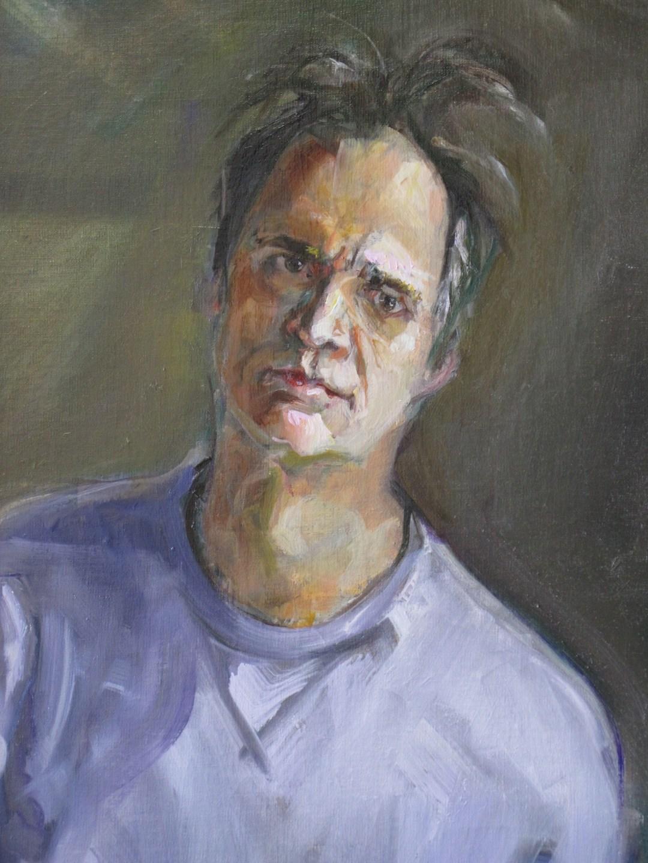 Bruce Baxter self portrait - Bruce Baxter