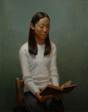 "Thomas S. Buechner ""Christy"" 20x16 oil $3390."