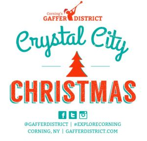 Sparkle at West End Gallery during Corning, NY's Crystal City Christmas @ West End Gallery | Corning | New York | United States