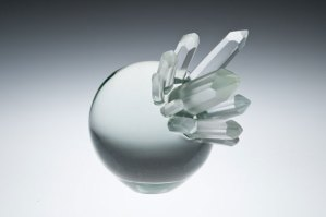 "Ross Delano ""Crystal Ball"" 7.5""x11"" glass $1,600."