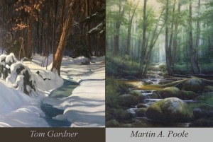 Tom Gardner & Martin Poole Exhibit @ West End Gallery | Corning | New York | United States