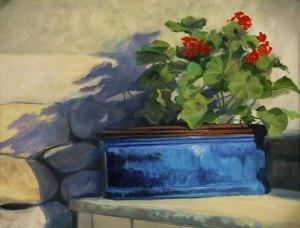 """Tom Gardner """"Santa Fe Sunlight"""" 16x20 oil $1,400."""