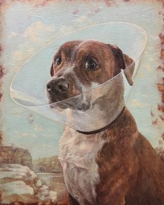 "Dana Hawk ""Halo"" oil painting"