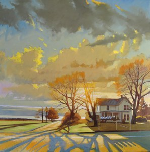 "Brian Keeler ""Seneca Spring Phelps Road"" Oil Painting"
