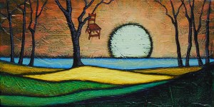 """GC Myers """"Days Like This"""" 6x12 acrylic/canvas $ Inquire"""