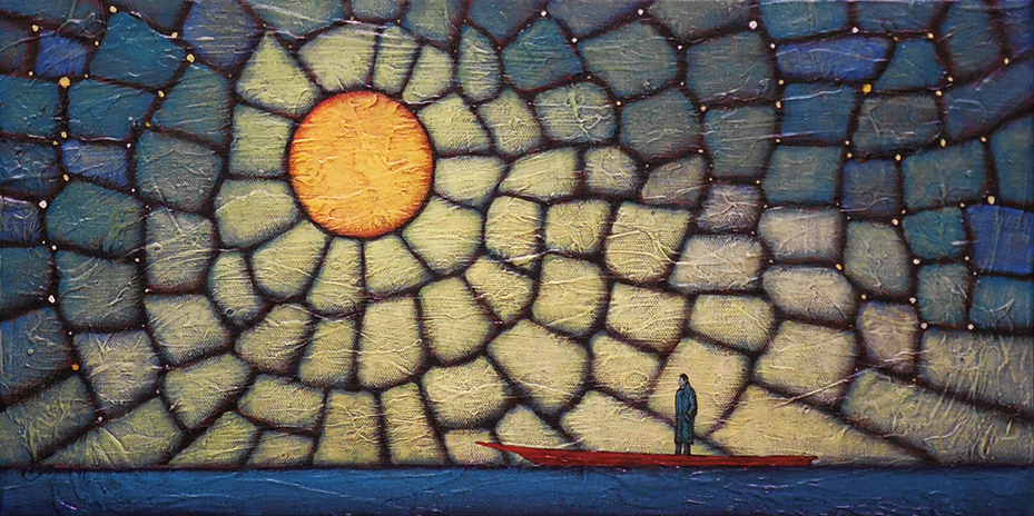 """GC Myers """"Point of Departure"""" 10x20 acrylic/canvas $ Inquire"""