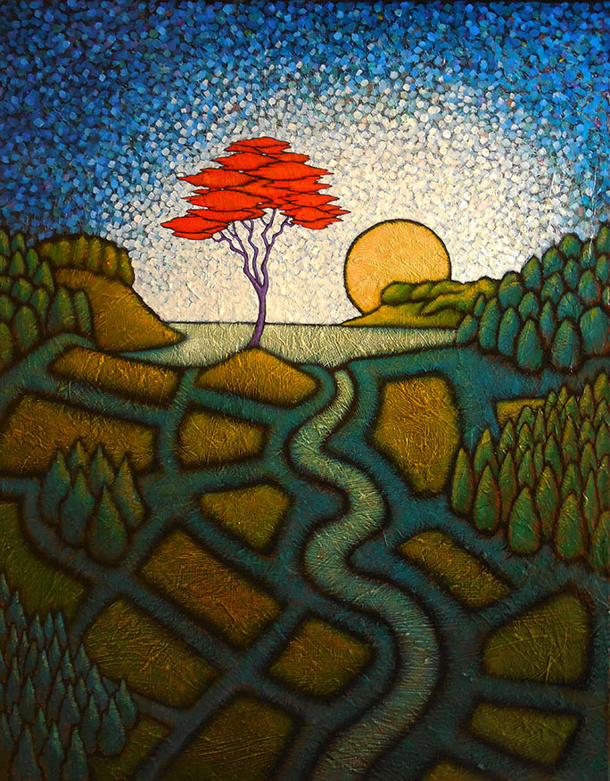 """MyersTheCenterFound - 2021 GC Myers:<br>""""Through the Trees"""""""