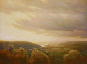 "Martin A. Poole ""Overlook"" 18x24 oil $2,350. Unframed (Inquire)"