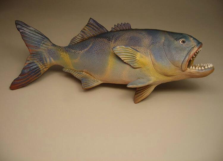 "Alan and Rosemary Bennett ""Bluefish"" fish glaze"