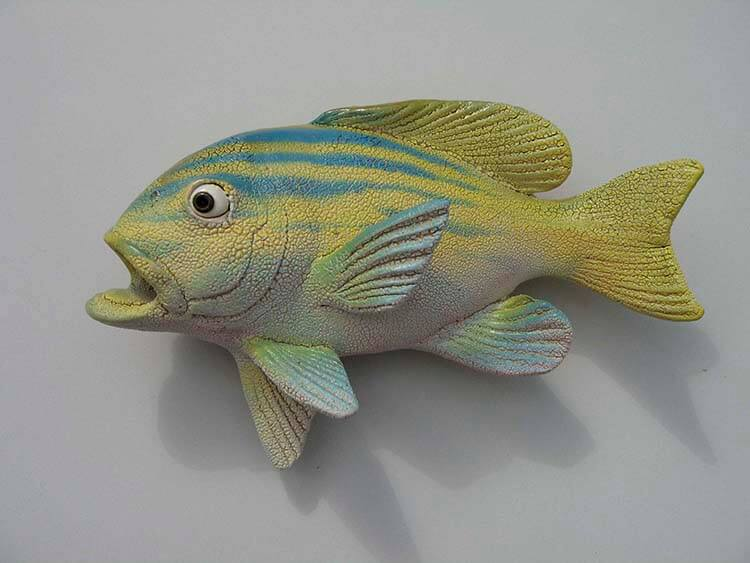 "Alan and Rosemary Bennett ""Grunt"" fish glaze"