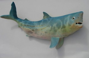 "Alan and Rosemary Bennett ""Shark"" fish glaze"
