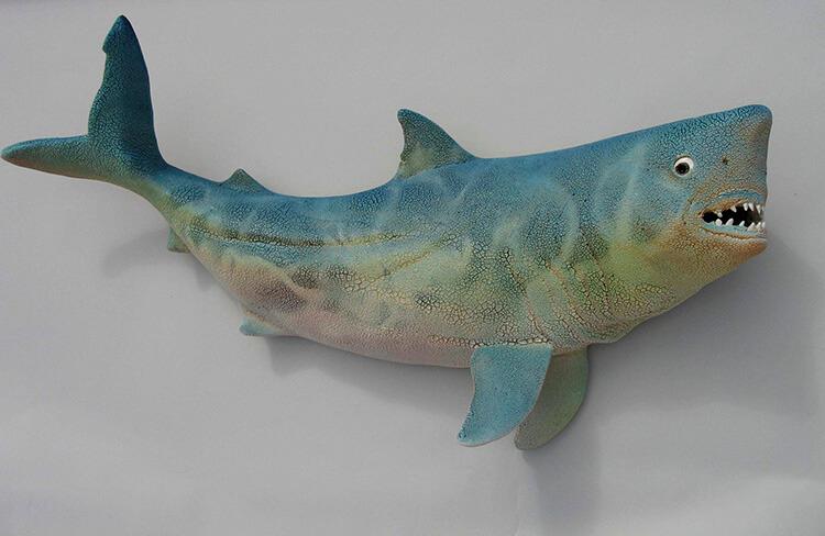 "Alan and Rosemary Bennett ""Shark"" fish glaze"