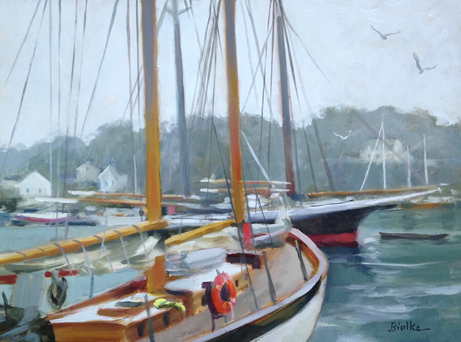 West End Gallery BialkeCamdenMist - Anne Bialke