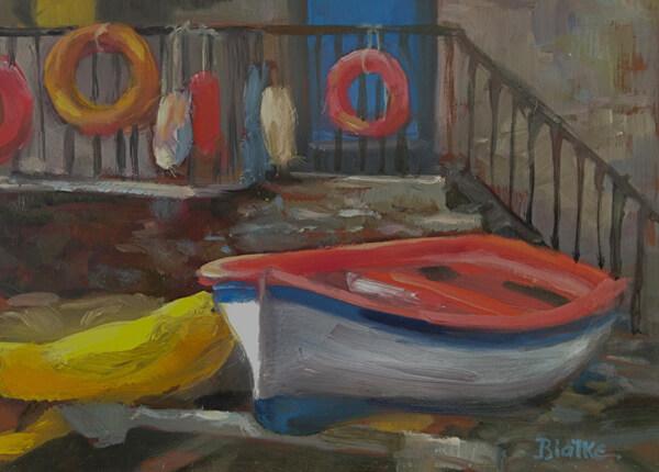 "Anne L. Bialke ""Manarosa Local Color"" 6x8 $265."