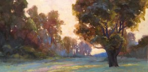 """Anne Bialke """"Wisdom"""" 12x24 oil $800"""