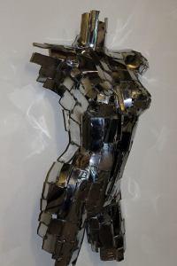 "Mark English ""Sylvia"" (view 2) repurposed metals $2,000."