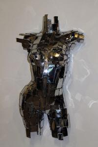 "Mark English ""Sylvia"" (view 1) repurposed metals $2,000."