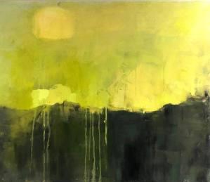 """Ileen Kaplan """"Summer Green"""" 24x30 oil $1,250."""