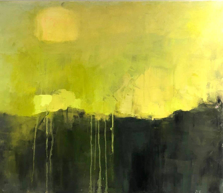 "Ileen Kaplan ""Summer Green"" 24x30 oil $1,250"