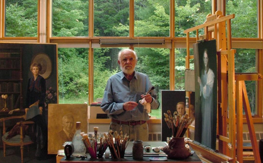 tom buechner studio 2010 - Thomas S. Buechner: Caricatures