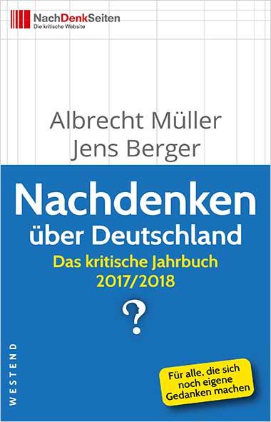 Albrcht Müller, Jens Berger – Nachdenken über Deutschland. D