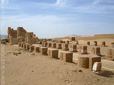 Deir al-Hagar near Dakhla Oasis