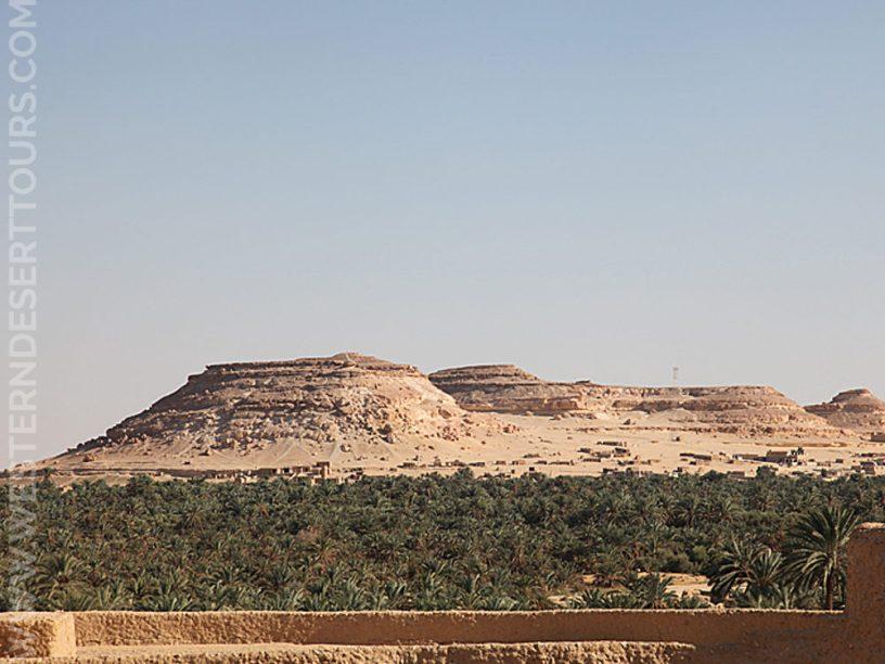 Gebel al-Dakrur in Siwa Oasis