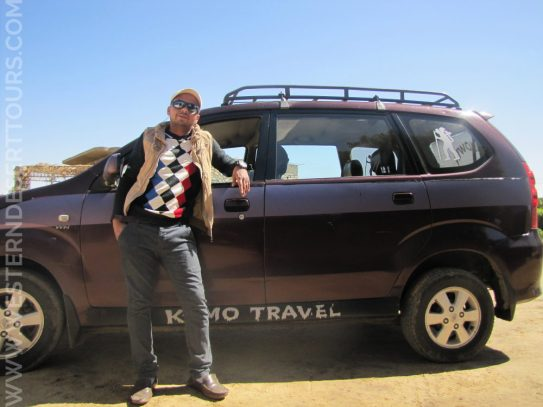 Kareem is a member of the team at Western Desert Tours. He is responsible for our pick up/drop off service.