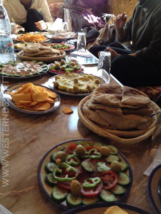 Lunch à l'égyptienne