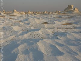 """Snow"" in the White Desert"