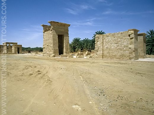 Temple of Hibis in Kharga Oasis