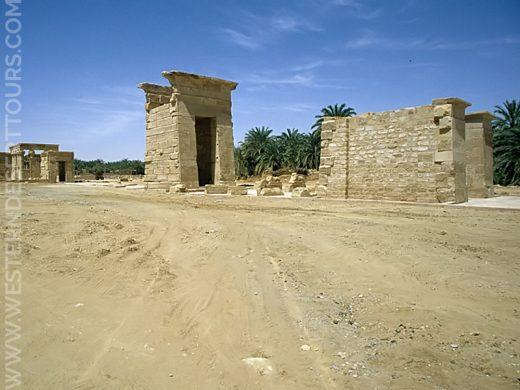 Temple of Hibis in Kharga Oasis