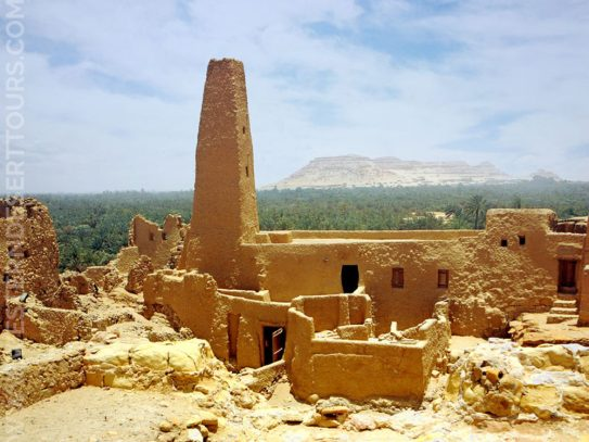 Temple of the Oracle in Siwa Oasis