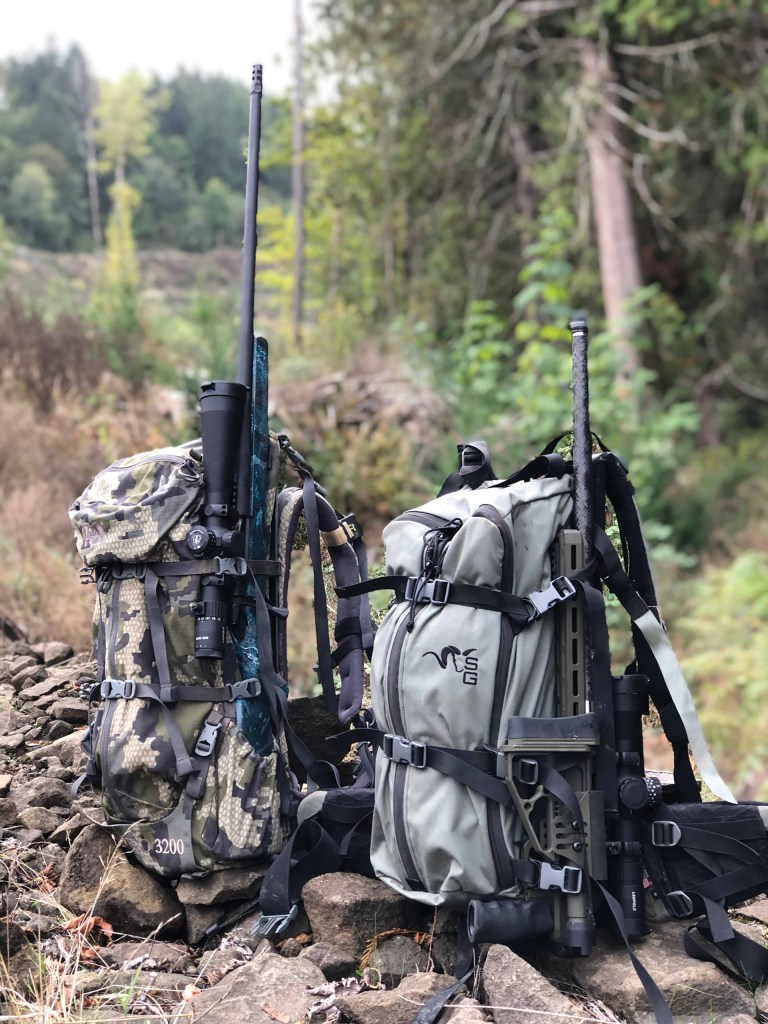 If you ever strap your rifle to your pack for traveling through the woods, you'll find the folding stock a very useful feature.