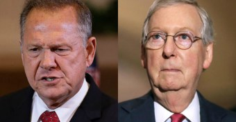 McConnell Concedes: No Option But to Seat Moore if He Wins