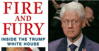 Wolff Book Conveniently Timed to Overshadow Clinton Rape Accuser's Tell-All Book