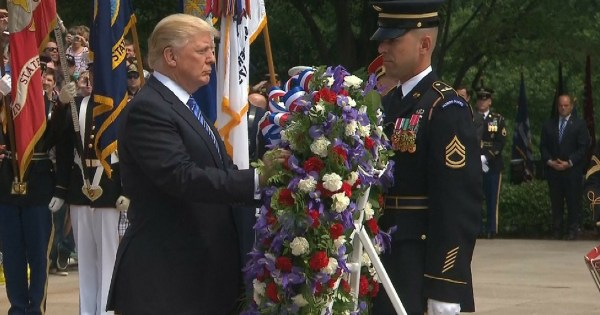 Trump Delivers Powerful Message At Arlington Hours After ...